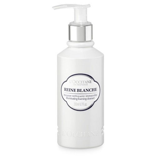 L'Occitane Reine Blanche Illuminating Foaming Cleanser review