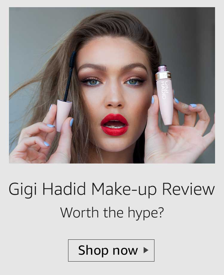 gigi hadid make up collection review, gigi hadid lipstick review