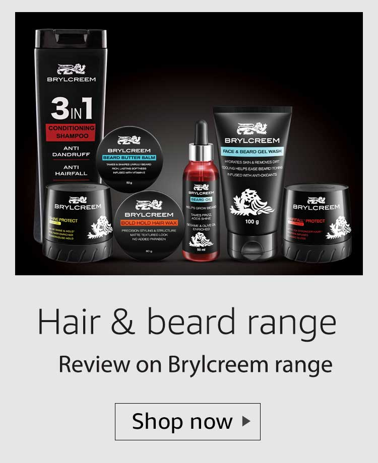 brylcreem hair and beard range review, brylcreem men's grooming range review