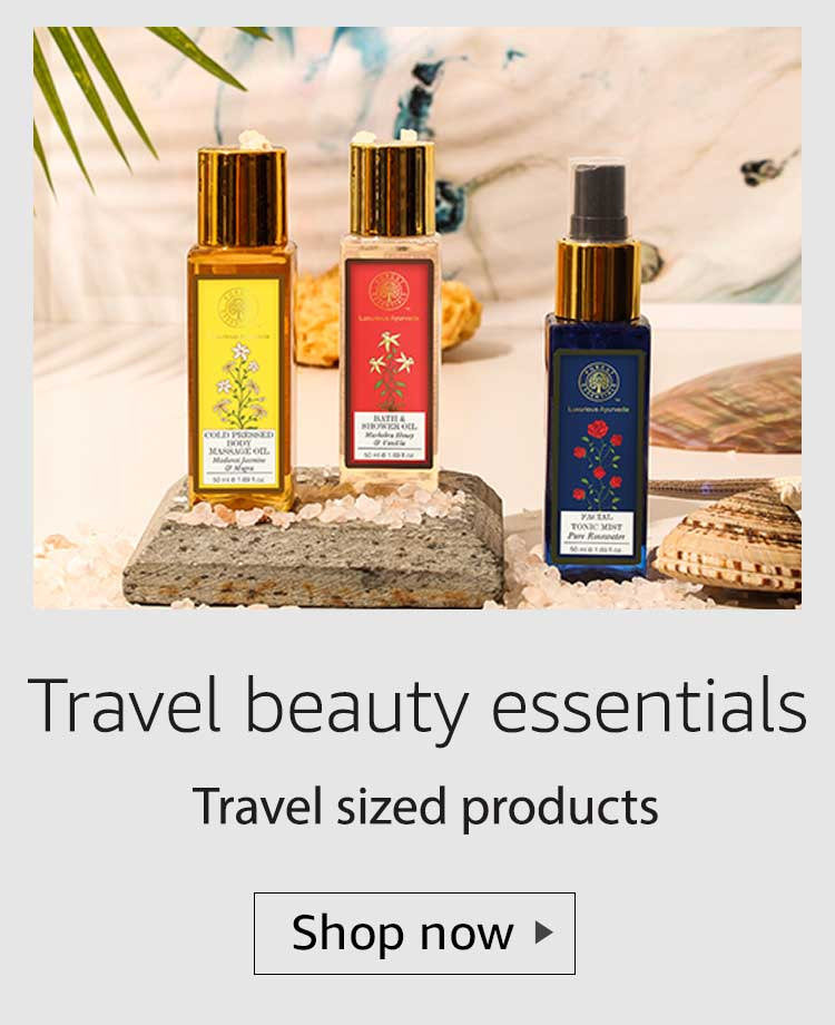 travel sized beauty products, travel sized lucury beauty products, travel friendly beauty products