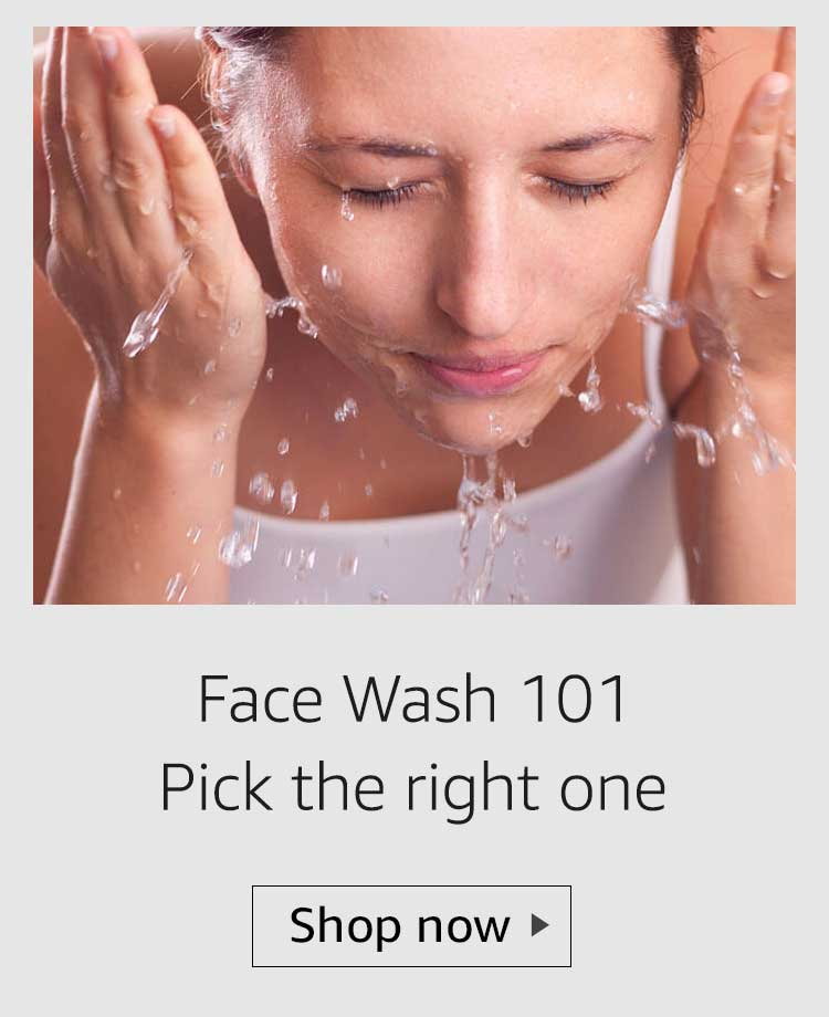 choose the right face wash, pick the right face wash