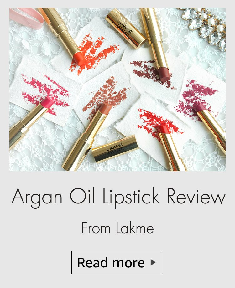 lakme argan lipstick, argan oil lipstick review, lakme argan oil lipstick review