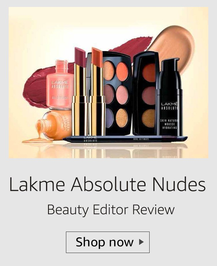 lakme absolute nudes range review
