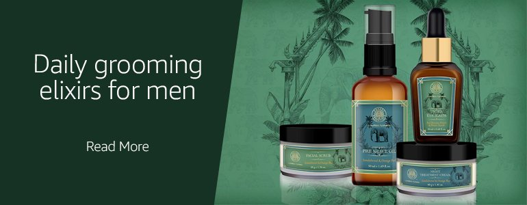 forest essentials men's grooming regime