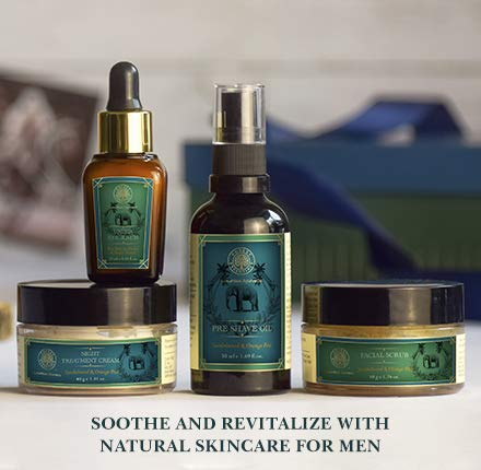forest essentials facial care regime for men