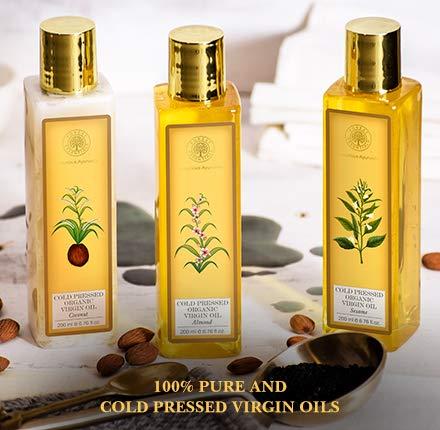 forest essentials virgin oil
