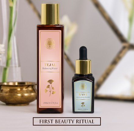 forest essentials first beauty regime