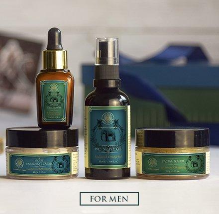 forest essentials facial care regime for men