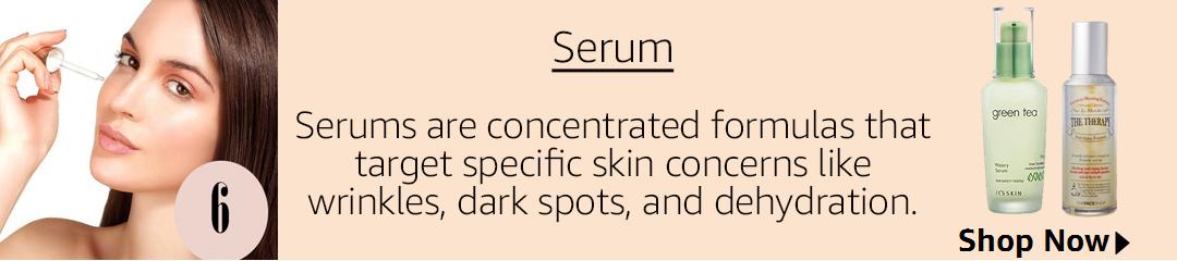 Korean beuty regime, serum