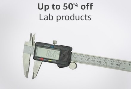 Up to 50% off lab products