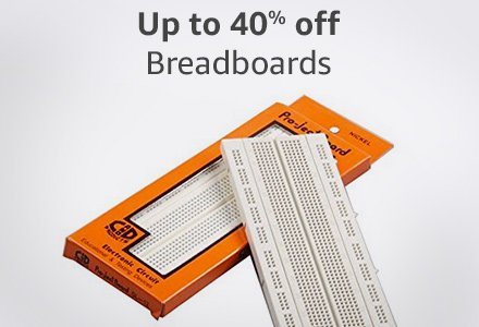 Up to 40% off breadboards