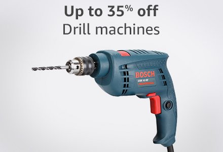 Up to 35% off Drill machines