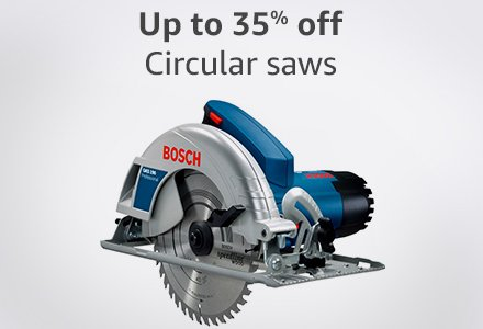 Up to 35% off circular saws