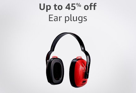 Up to 45% off ear plugs