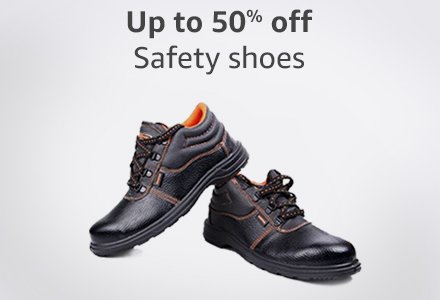 Up to 50% off safety shoes