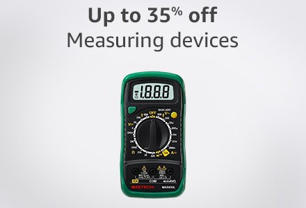 Up to 35% off measuring devices