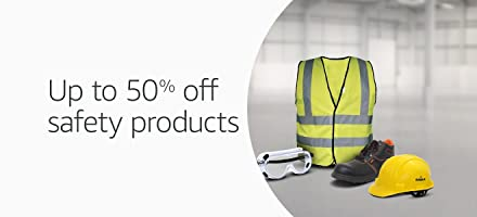Up to 50% off safety products