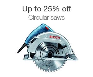 Up to 25% off circular saws