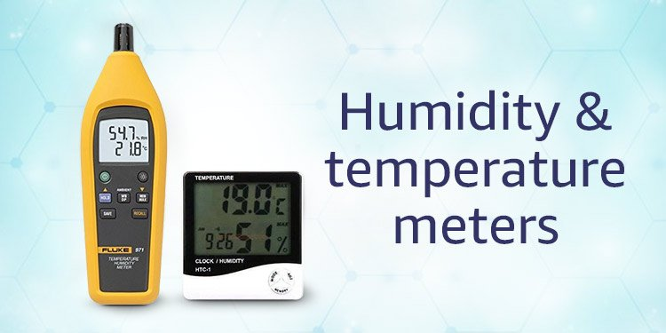 Humidity & temperature meters
