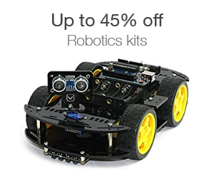 Up to 45% off robotics kits