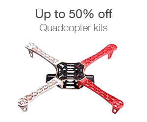 Up to 50% off quadcopter kits