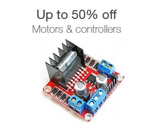 Up to 50% off motors & controllers