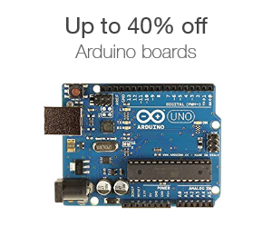 Up to 40% off Arduino boards