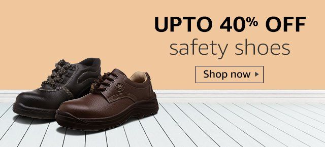 Up to 40% off safety shoes