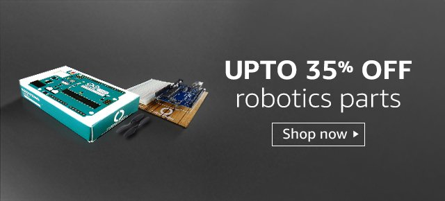 Up to 35% off robotics products