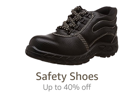 Safety shoes: Up to 40% off
