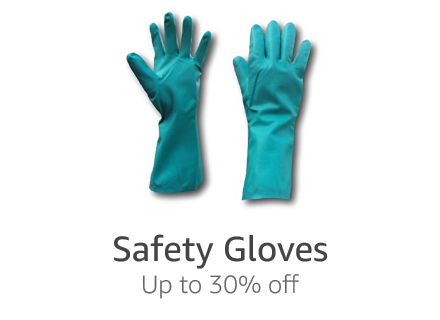 Safety gloves: Up to 30% off