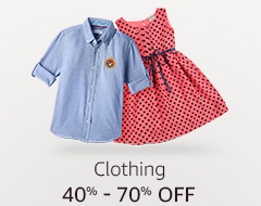 40% to 70% off: Clothing