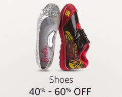 40% to 60% off: Shoes