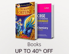 Up to 40% off: Books