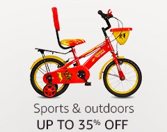 Up to 35% off: Sports & outdoors
