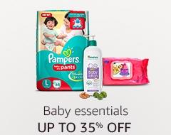 Up to 35% off: Baby essentials
