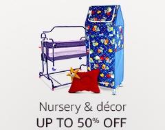 Up to 50% off: Nursery & decor