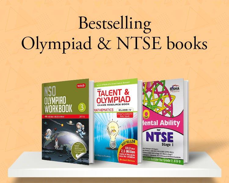 Bestselling Olympiad & NTSE books
