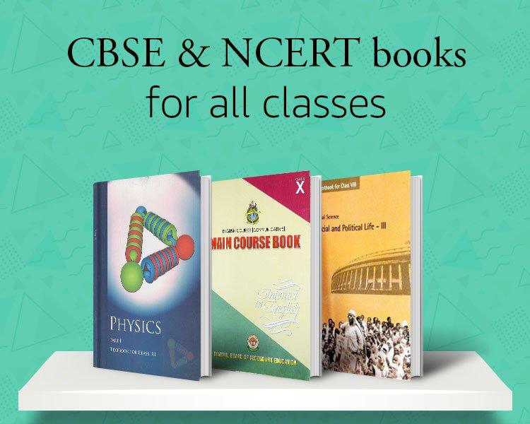 CBSE & NCERT books for all classes