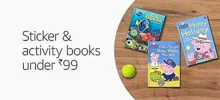 Sticker & activity books under 99