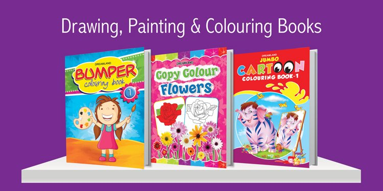 Drawing, Painting and Colouring Books
