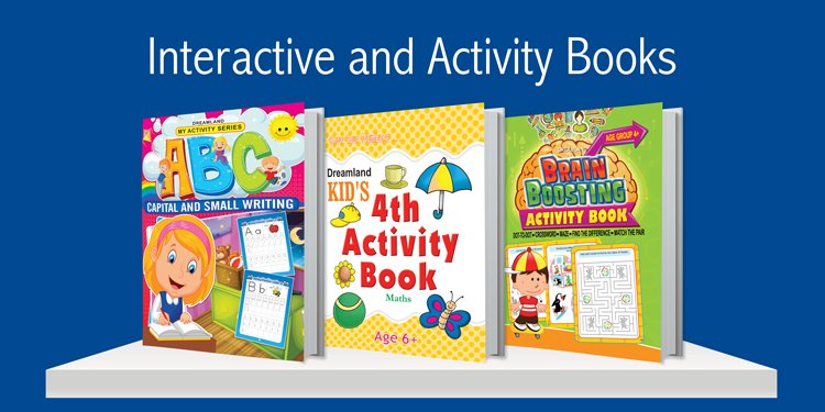 Interactive & Activity Books