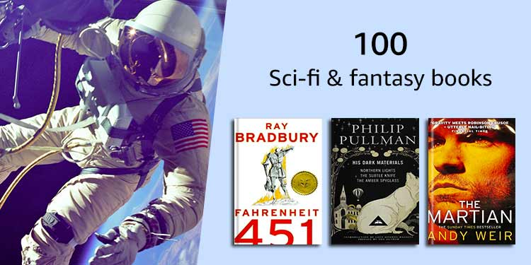 100 Scie-fi & fiction books