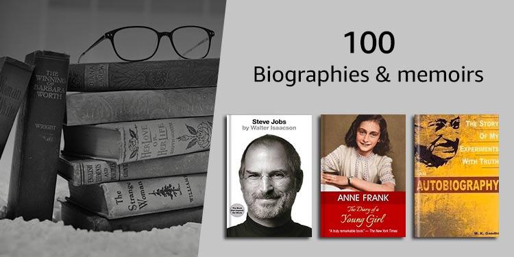 100 Biographies & memoirs