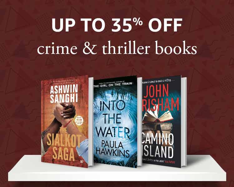 Up to 35% off: Crime & Thriller Books