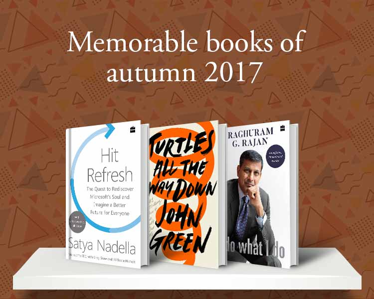 Memorable books of autumn 2017