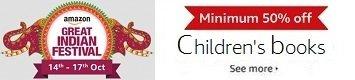 Minimum 50% off: Children's books