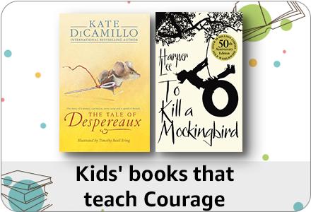 Kids' books that teach courage