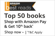 Top 50 books - Shop using Amazon Pay balance and get10% back