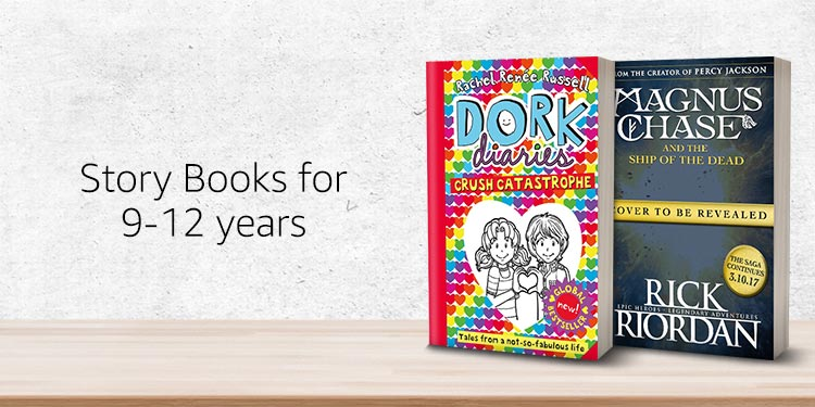 Story books for 9-12 years